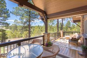 Rear Deck Has Panoramic Views