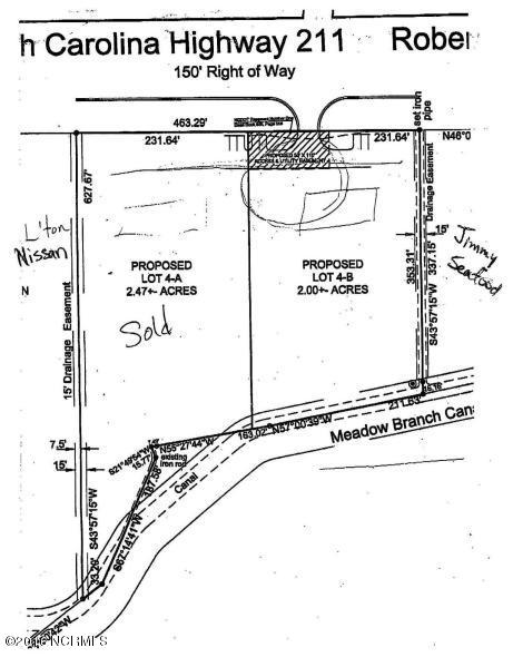 Lot 4- B Roberts Avenue- Lumberton- North Carolina, ,Mixed use,For sale,Roberts,100002099