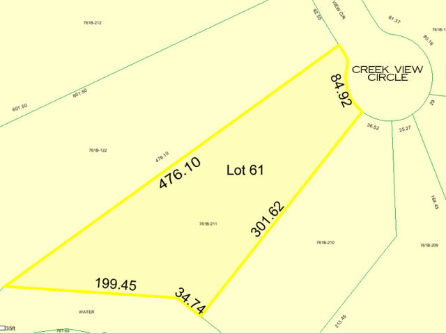 205 Creek View Circle, Sneads Ferry, North Carolina 28460, ,Residential land,For sale,Creek View,40093225
