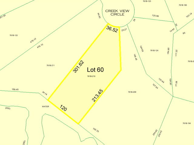 203 Creek View Circle, Sneads Ferry, North Carolina 28460, ,Residential land,For sale,Creek View,40093226