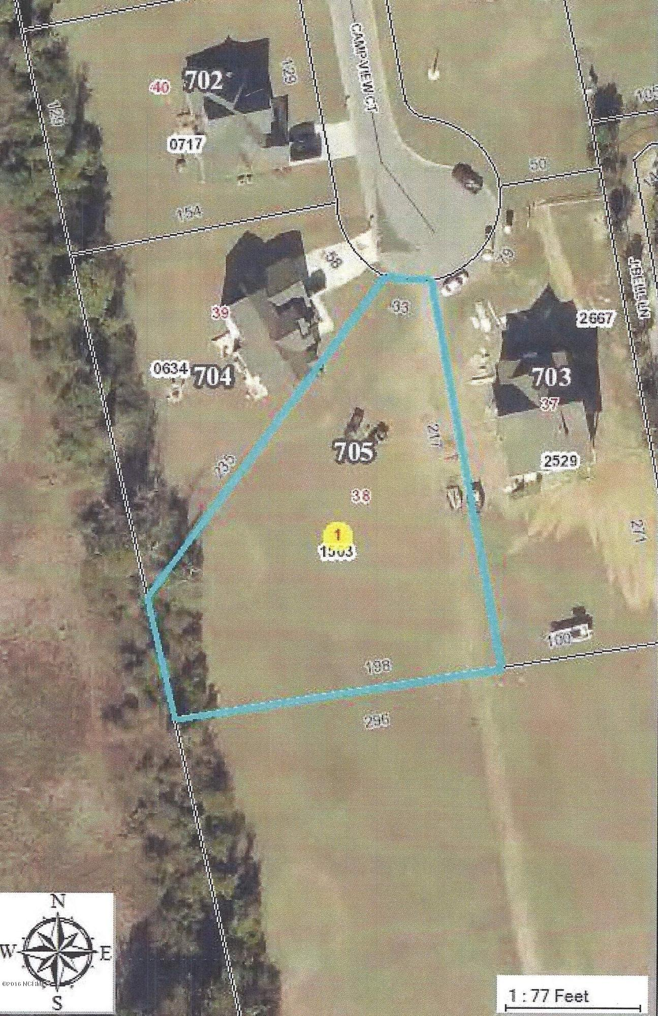 705 Camp View Court, Newport, North Carolina 28570, ,Residential land,For sale,Camp View,100013313