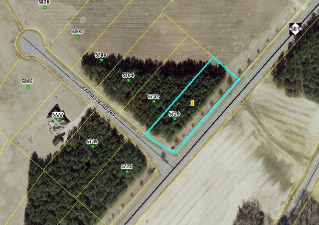 5720 Farmstead Road, Bailey, North Carolina 27807, ,Residential land,For sale,Farmstead,100041046