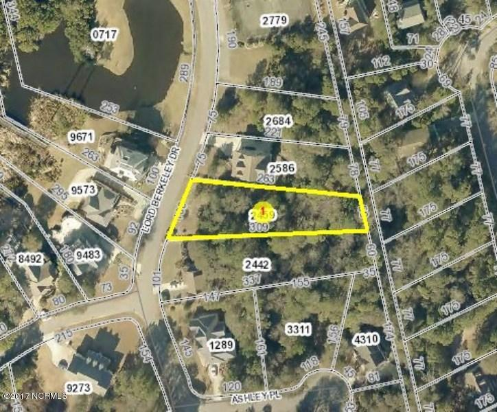 310 Lord Berkley Drive, Emerald Isle, North Carolina 28594, ,Undeveloped,For sale,Lord Berkley,100005708