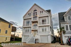Single Family Home for Sale at 4368 Island Drive N Topsail Beach, North Carolina 28460 United States
