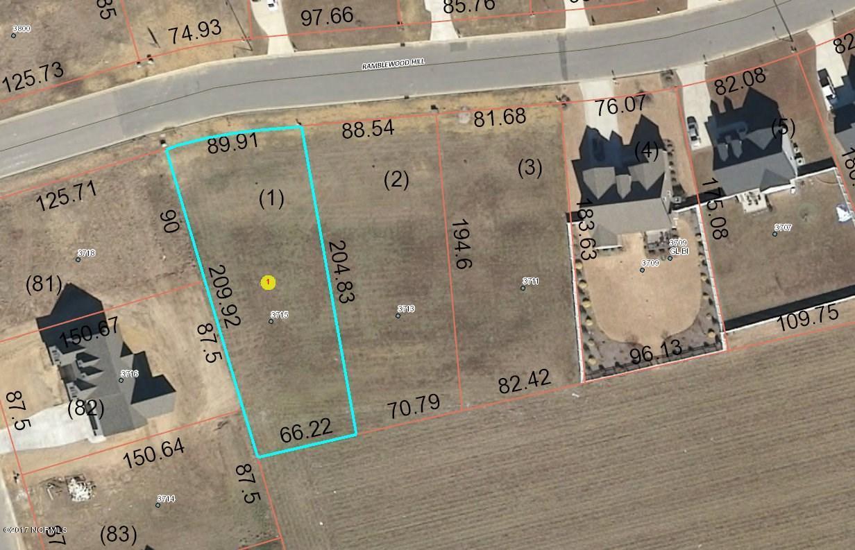 3715 Ramblewood Hill Drive, Wilson, North Carolina, ,Residential land,For sale,Ramblewood Hill,100052075