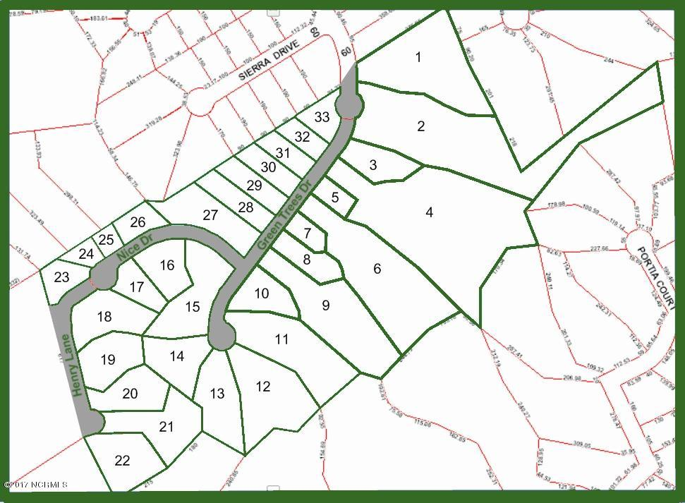 107 Henry Lane, New Bern, North Carolina 28562, ,Residential land,For sale,Henry,90100449