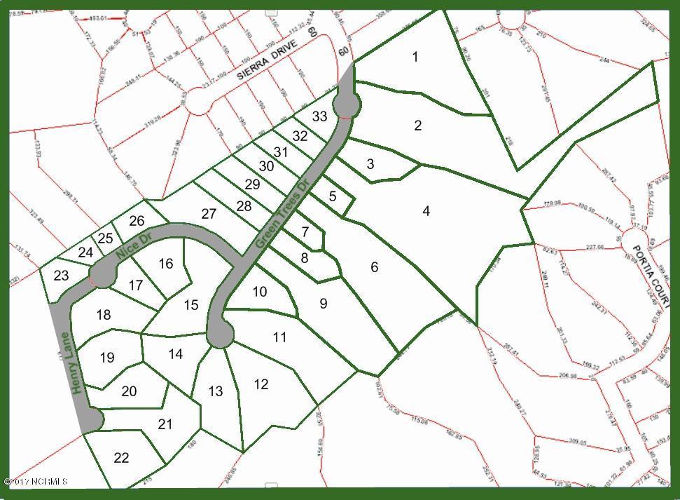 105 Henry Lane, New Bern, North Carolina 28562, ,Residential land,For sale,Henry,90100448