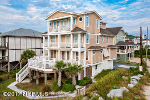 Single Family Home for Sale at 18 Asheville Street Wrightsville Beach, North Carolina 28480 United States