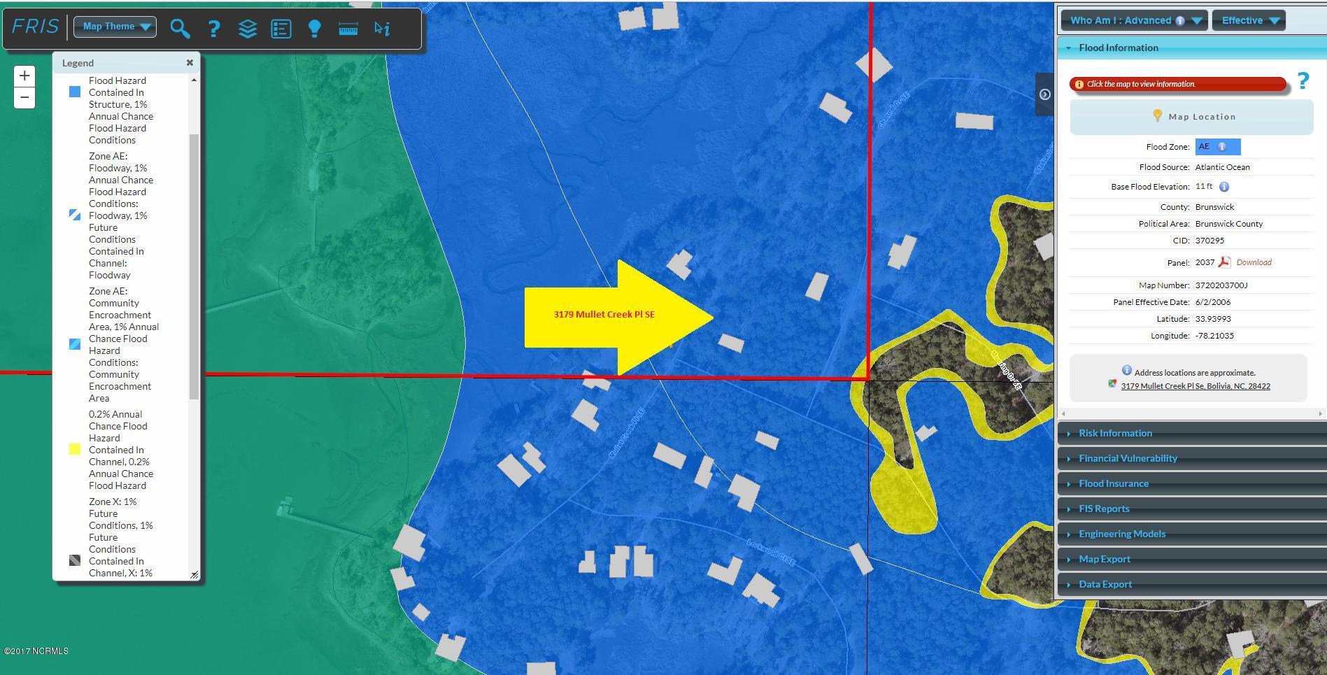 3179 Mullet Creek Place, Bolivia, North Carolina 28422, ,Wooded,For sale,Mullet Creek,100076312