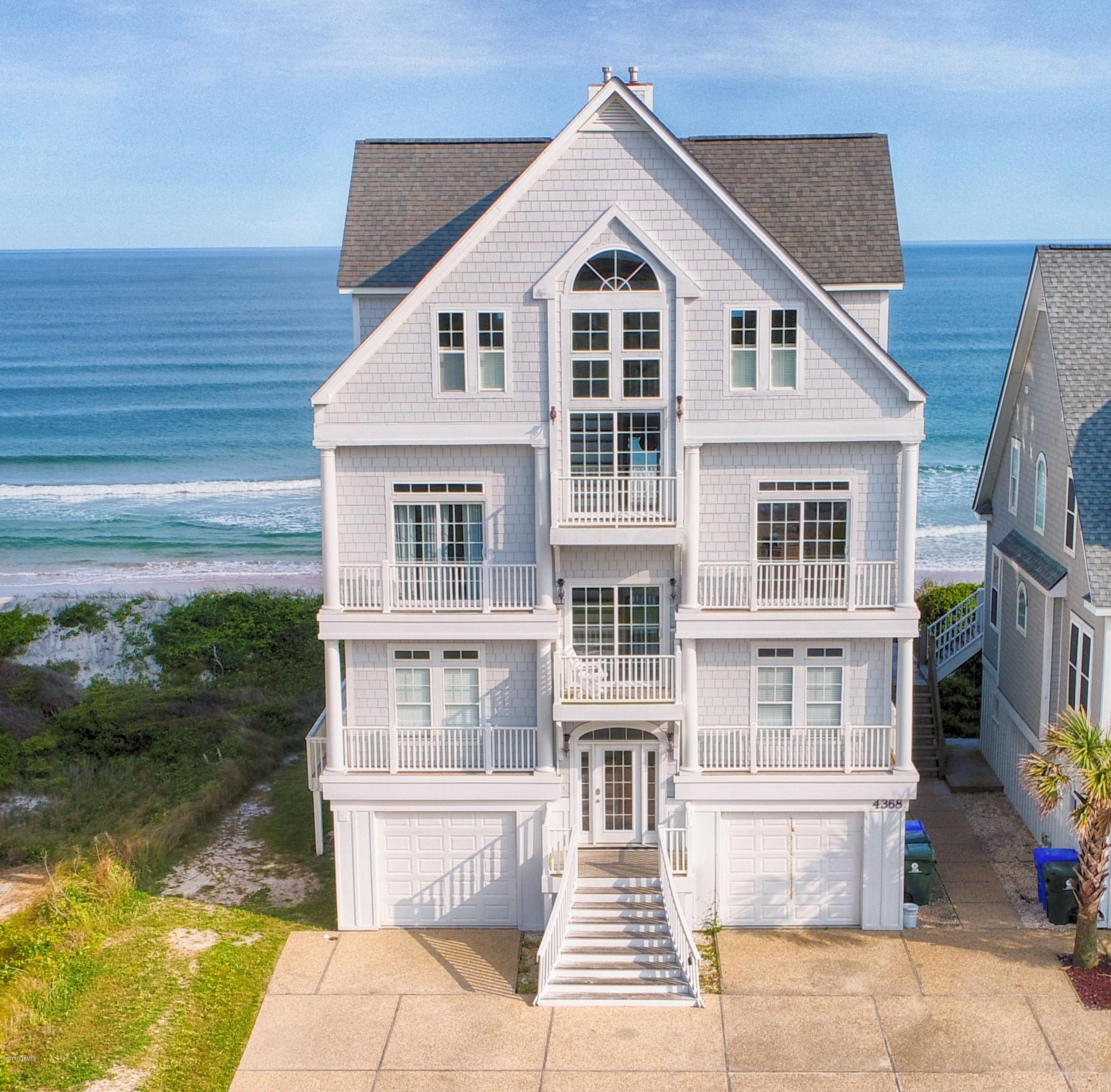 4368 Island Drive, North Topsail Beach, North Carolina, 7 Bedrooms Bedrooms, 10 Rooms Rooms,7 BathroomsBathrooms,Single family residence,For sale,Island,100048396