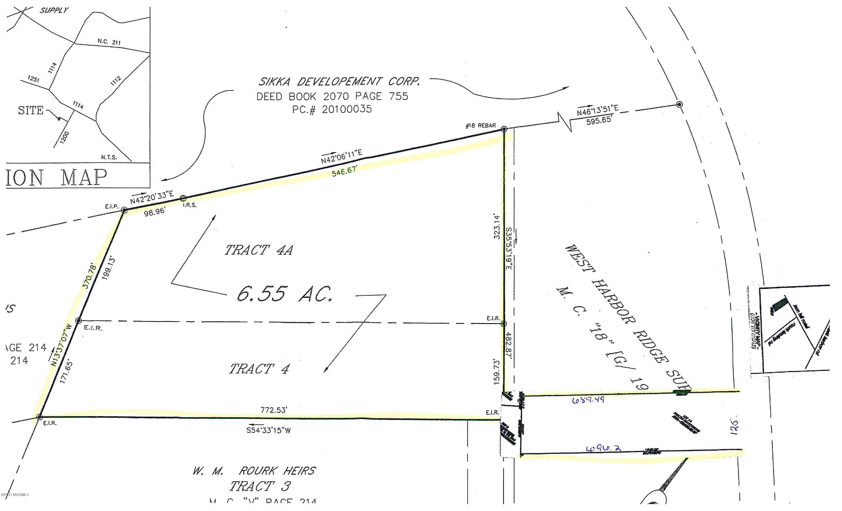 2227 Zion Hill Road, Bolivia, North Carolina 28422, ,Wooded,For sale,Zion Hill,100087534