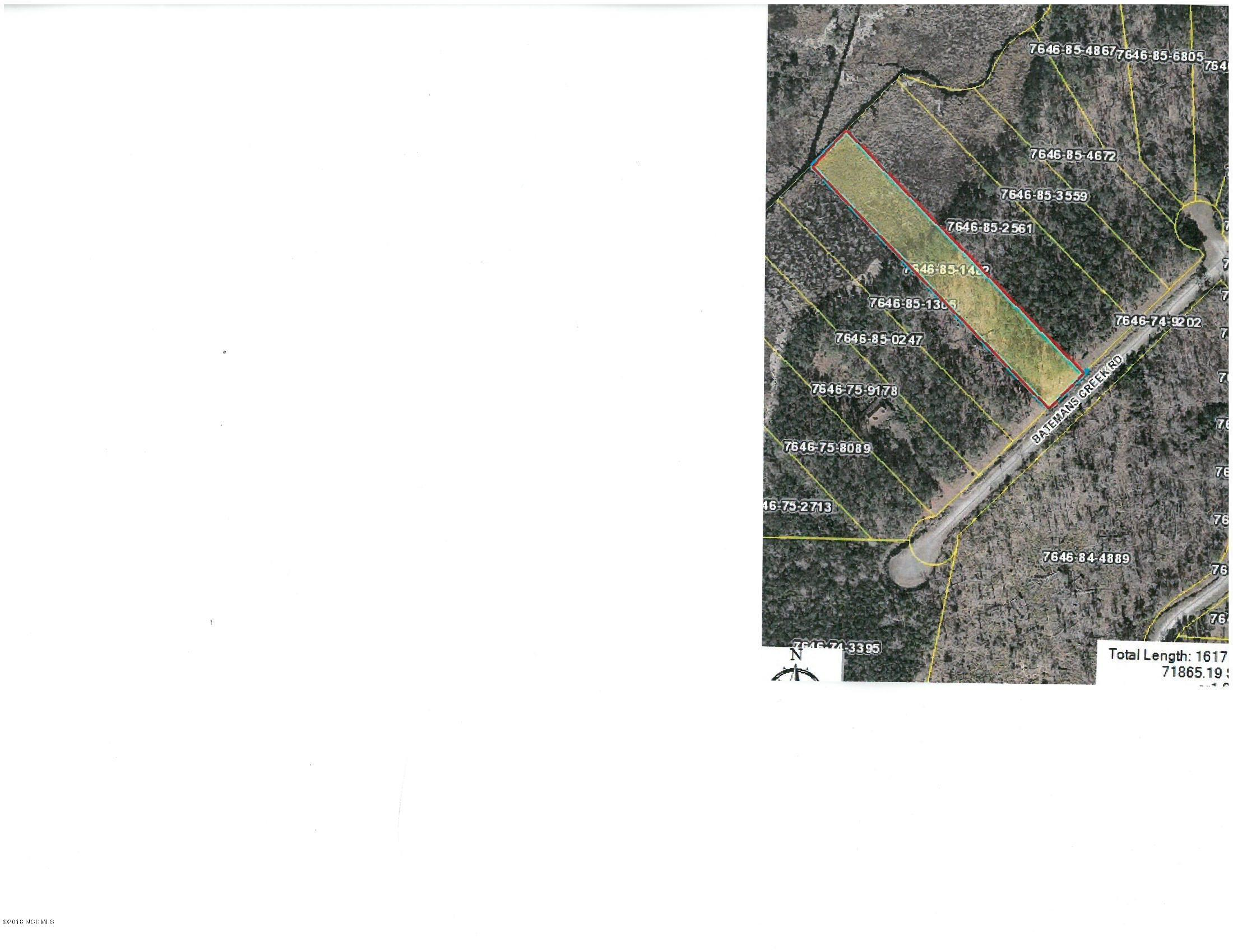 0 Batemans Creek Road, Belhaven, North Carolina, ,Residential land,For sale,Batemans Creek,100101914