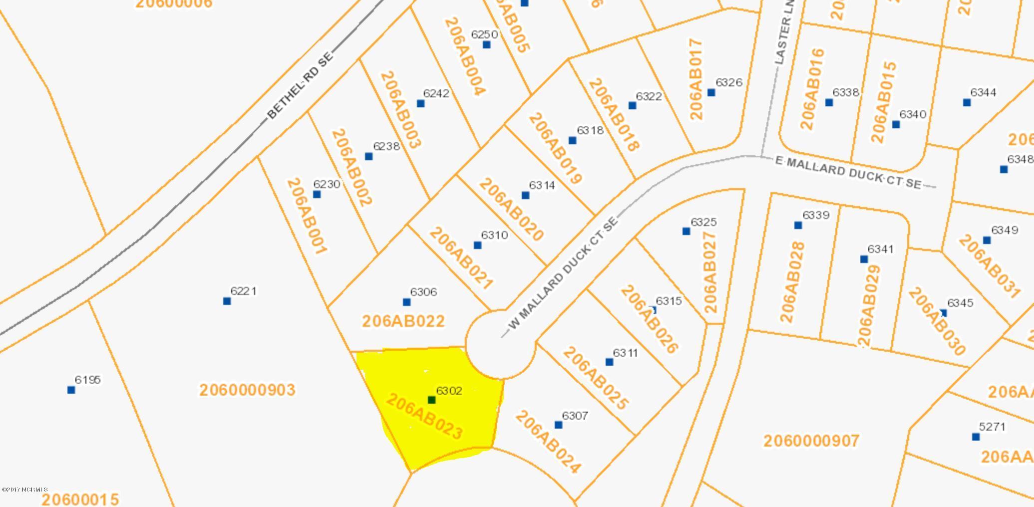 6302 Mallard Duck Lane, Southport, North Carolina, ,Residential land,For sale,Mallard Duck,100104461