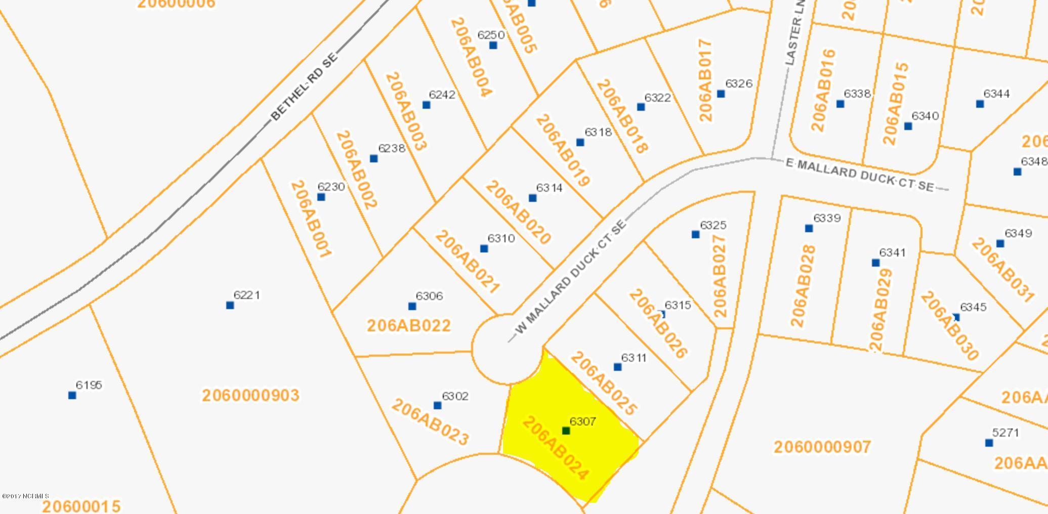 6307 Mallard Duck Lane, Southport, North Carolina, ,Residential land,For sale,Mallard Duck,100104466
