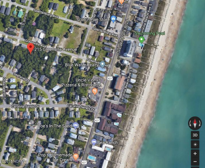 215 Greenville Avenue, Carolina Beach, North Carolina, ,Residential land,For sale,Greenville,100104984