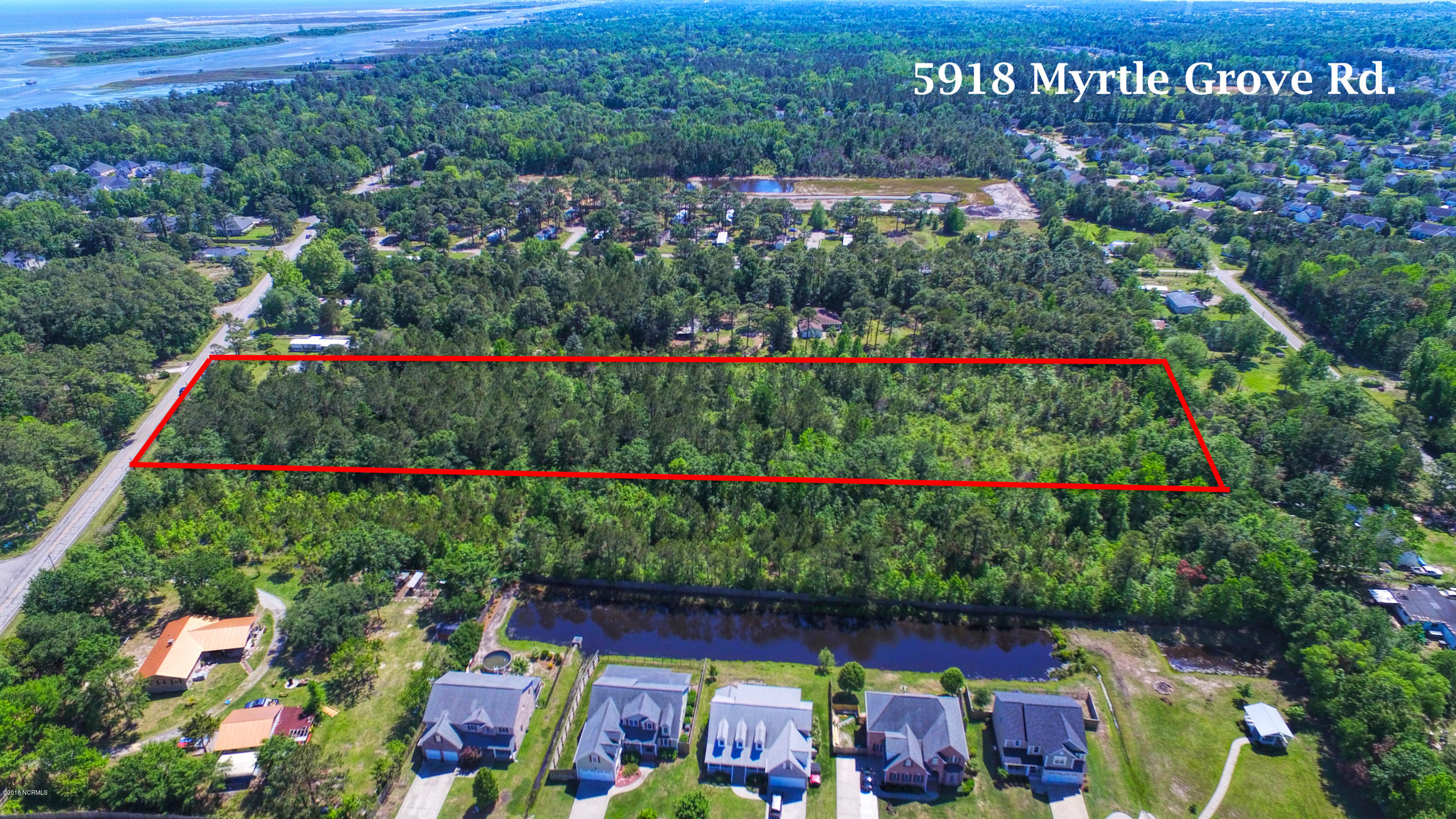 5918 Myrtle Grove Road, Wilmington, North Carolina, ,Residential land,For sale,Myrtle Grove,100104680