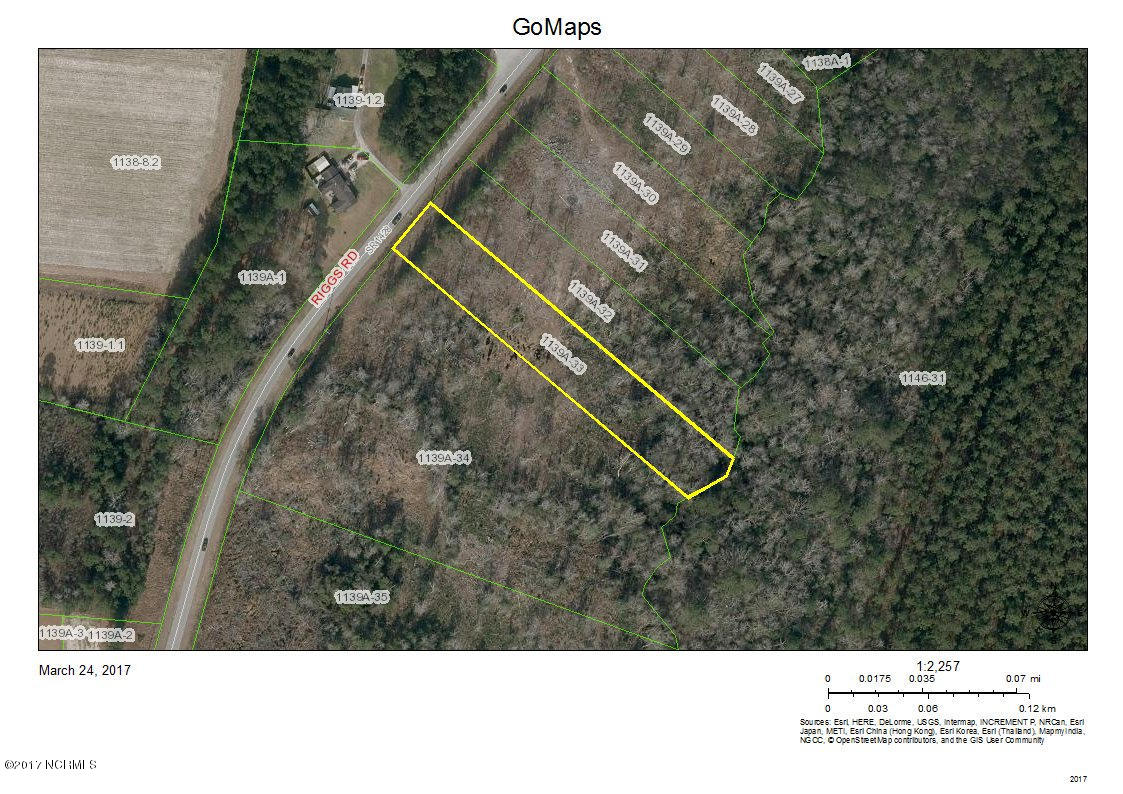 654 Riggs Road, Hubert, North Carolina, ,Residential land,For sale,Riggs,100105203