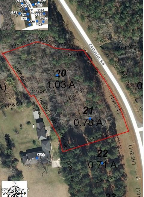 204 & 234 Zachariah Road, Nashville, North Carolina 27856, ,Residential land,For sale,Zachariah,100114189