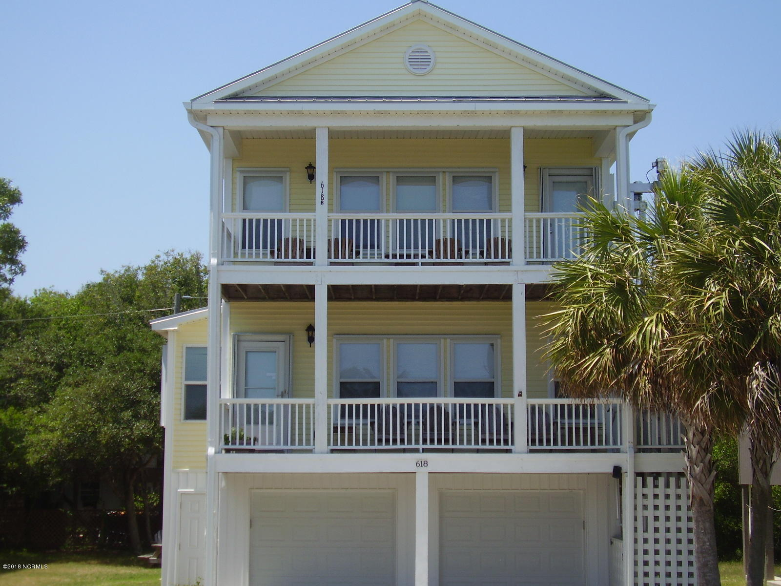 618 4th Avenue, Kure Beach, North Carolina, 5 Bedrooms Bedrooms, 10 Rooms Rooms,3 BathroomsBathrooms,Condominium,For sale,4th,100118264