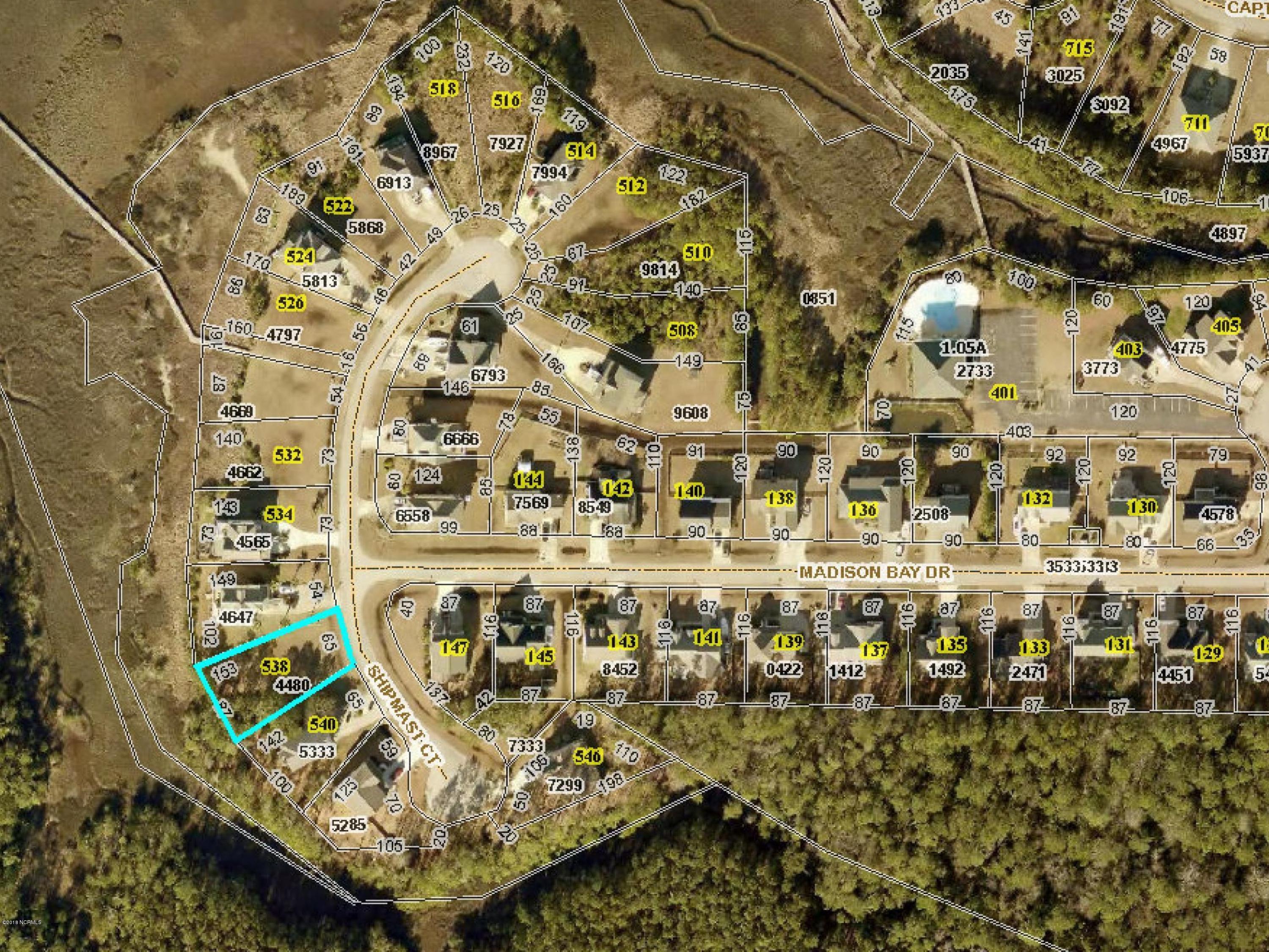 538 Shipmast Court, Beaufort, North Carolina 28516, ,Residential land,For sale,Shipmast,100122446
