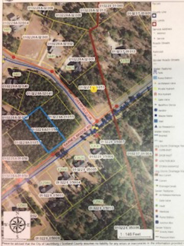 Lot-56 Barnes Bridge Road, Laurinburg, North Carolina 28352, ,Residential land,For sale,Barnes Bridge,96036630