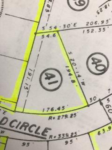 Lot-41 Deerfield Circle, Laurinburg, North Carolina 28352, ,Residential land,For sale,Deerfield,96036635