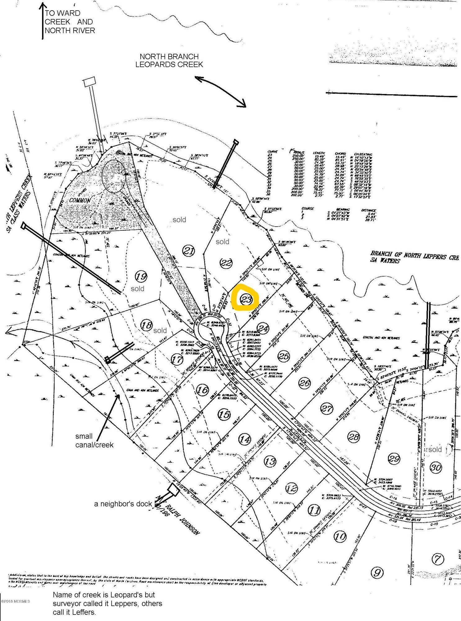 130 Jade Street, Beaufort, North Carolina 28516, ,Residential land,For sale,Jade,100133992
