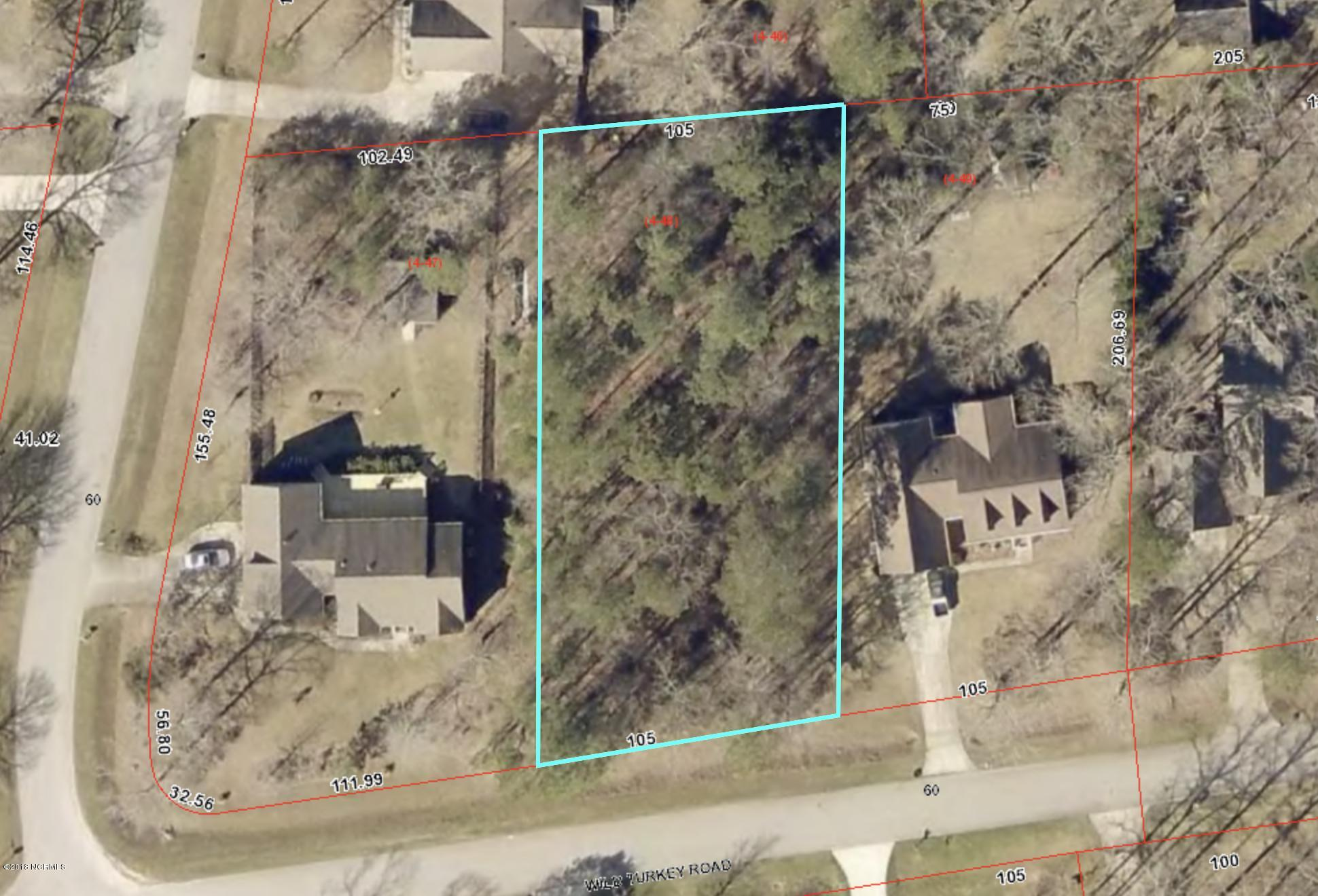 2405 Wild Turkey Road, New Bern, North Carolina 28562, ,Residential land,For sale,Wild Turkey,100134175