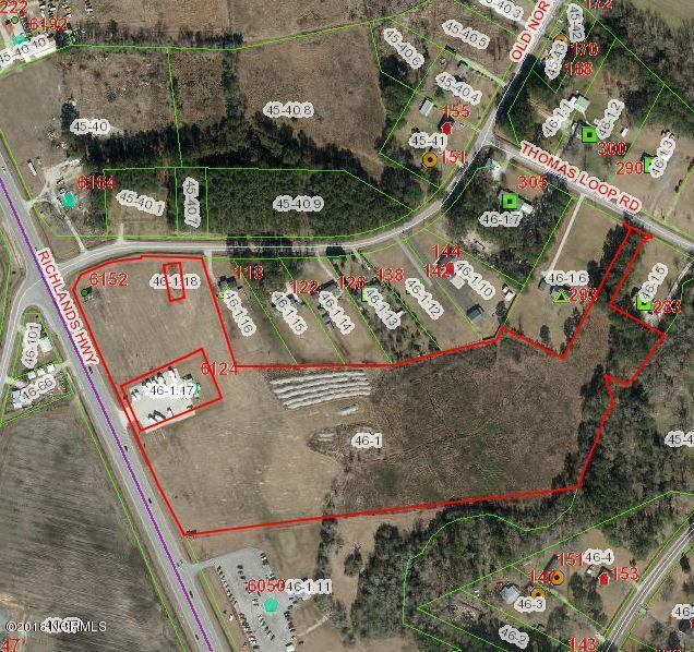 0 Richlands Highway, Jacksonville, North Carolina 28540, ,Commercial/industrial,For sale,Richlands,100021774