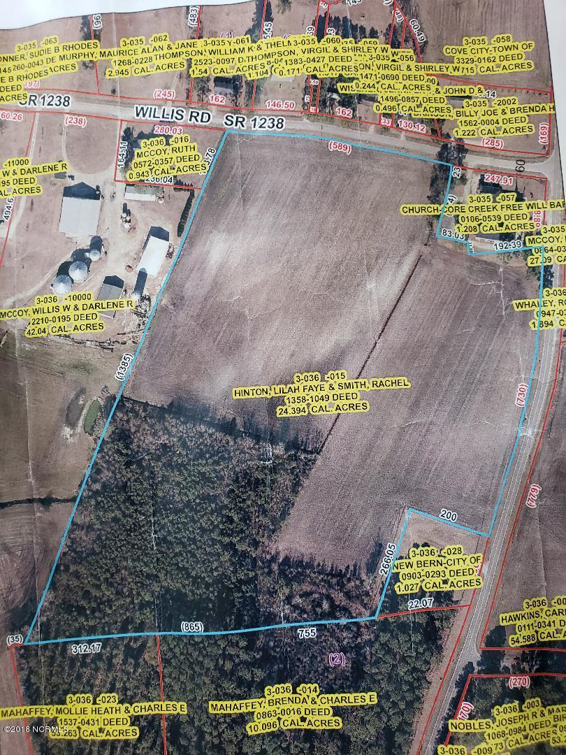 0 Willis Road, Cove City, North Carolina 28523, ,Agriculture,For sale,Willis,100136962
