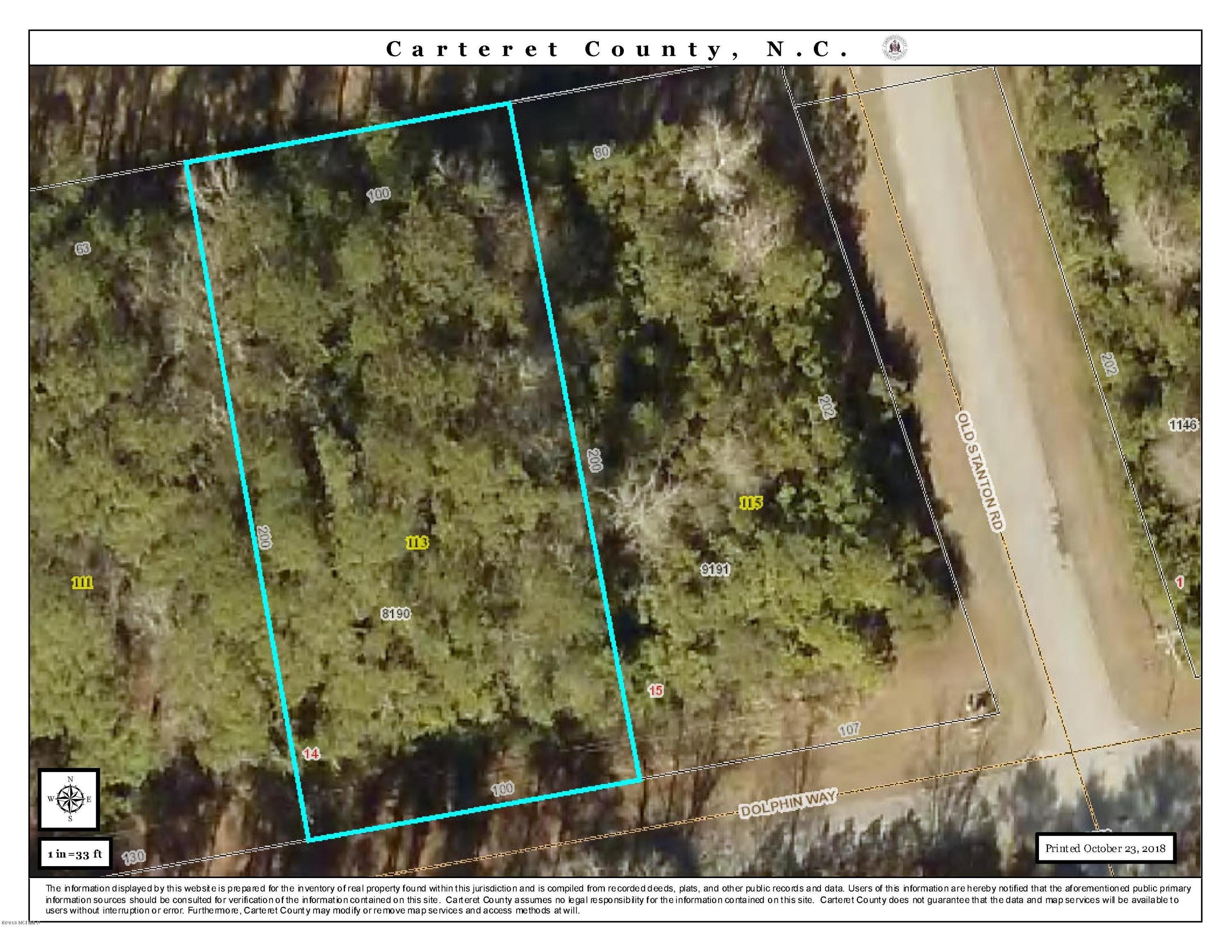 113 Dolphin Way, Beaufort, North Carolina 28516, ,Residential land,For sale,Dolphin,100137682