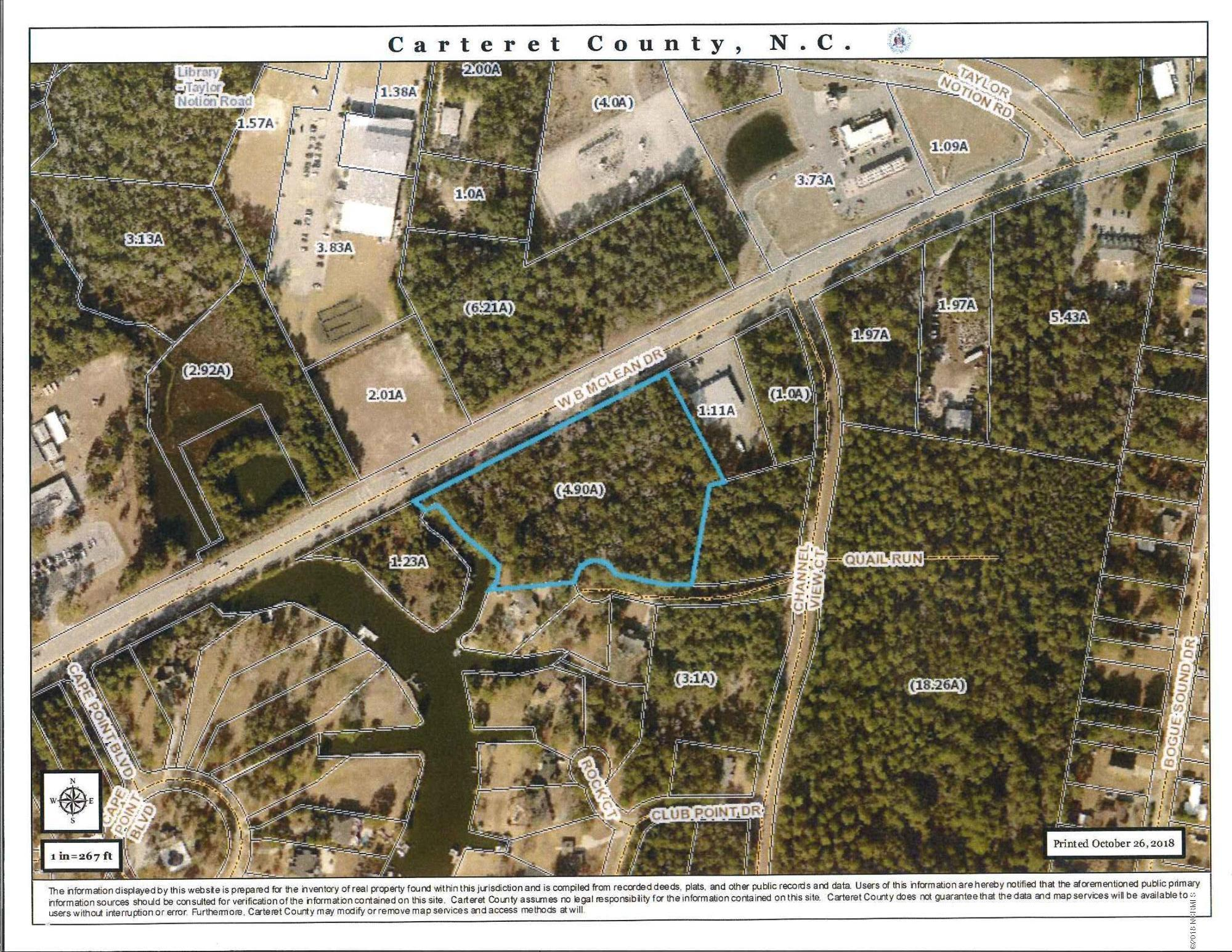 710 Hwy 24 Highway, Cape Carteret, North Carolina, ,Wooded,For sale,Hwy 24,100138033