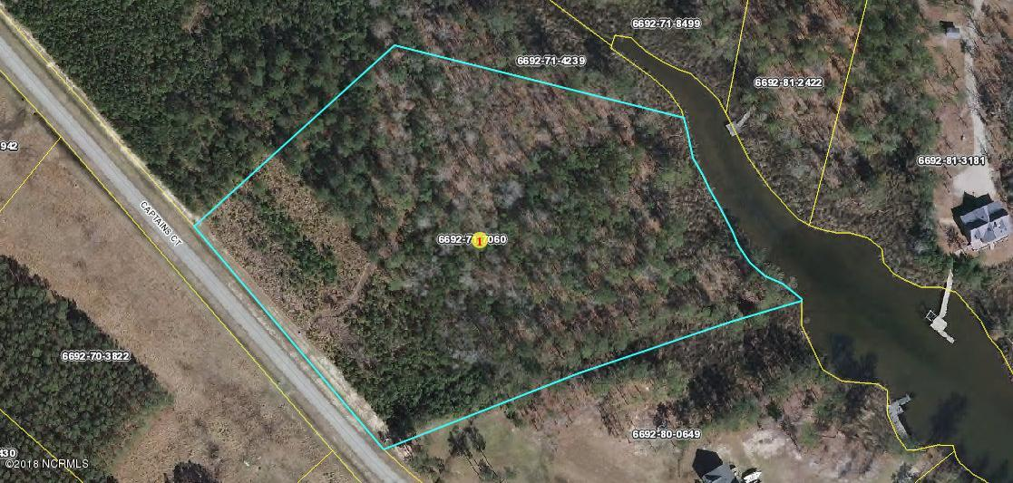 Lot 64 Captain'S Court, Belhaven, North Carolina, ,Residential land,For sale,Captain'S,100138197