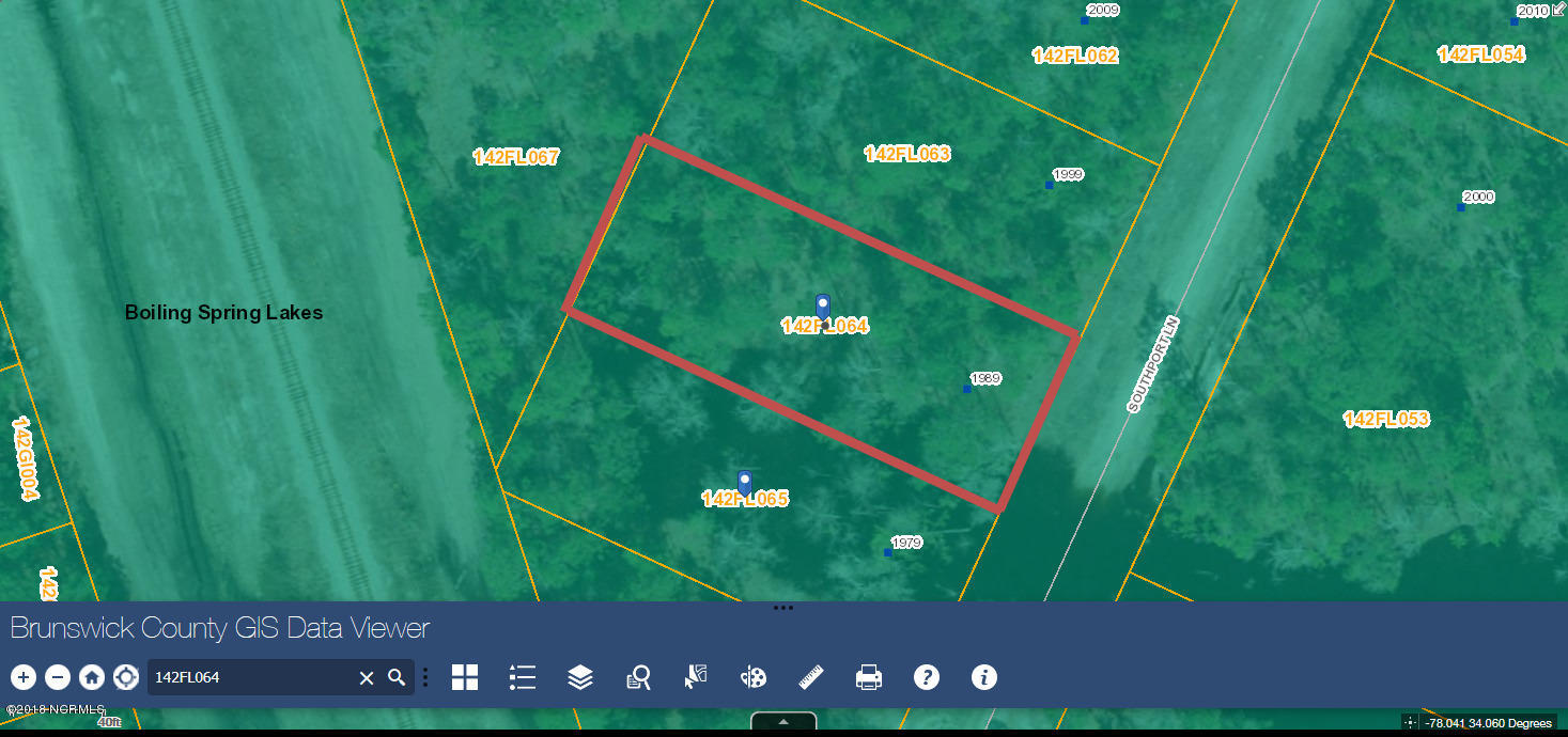 L-64 Southport Lane, Boiling Spring Lakes, North Carolina, ,Residential land,For sale,Southport,100139724
