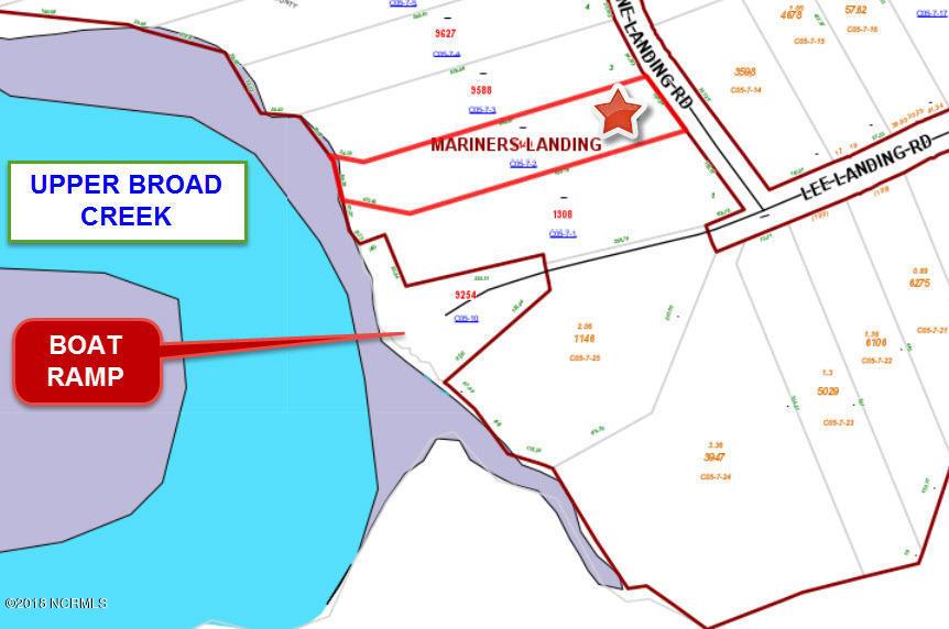 45 Berne Landing Road, New Bern, North Carolina 28560, ,Residential land,For sale,Berne Landing,100144097