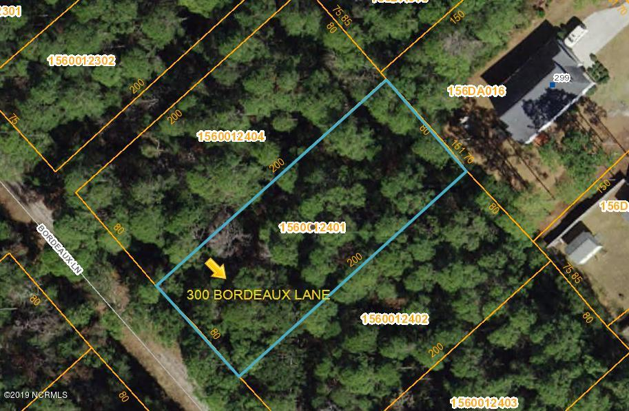 300 Bordeaux Lane, Boiling Spring Lakes, North Carolina, ,Residential land,For sale,Bordeaux,100144817