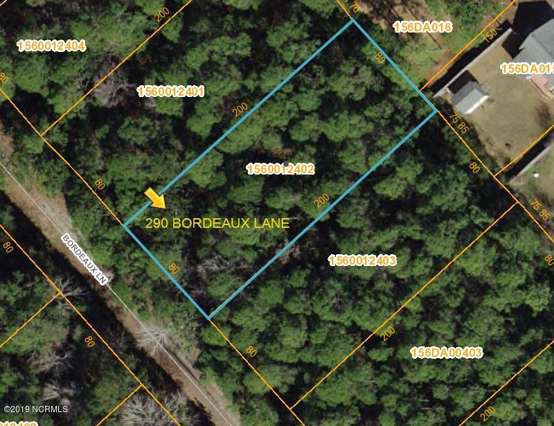 290 Bordeaux Lane, Boiling Spring Lakes, North Carolina, ,Residential land,For sale,Bordeaux,100144805