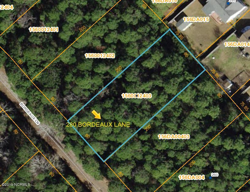 280 Bordeaux Lane, Boiling Spring Lakes, North Carolina, ,Residential land,For sale,Bordeaux,100144809