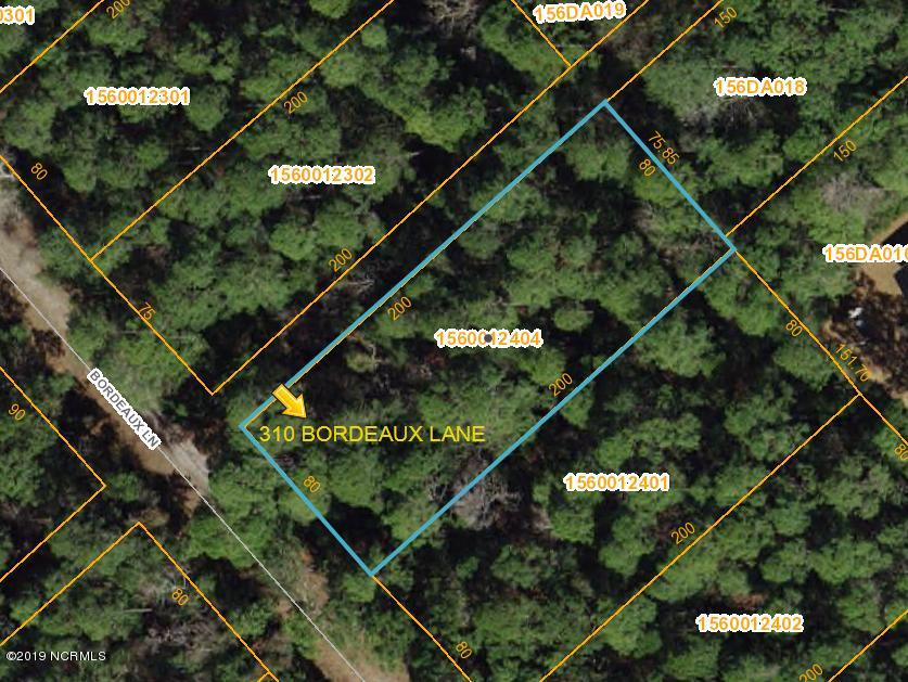 310 Bordeaux Lane, Boiling Spring Lakes, North Carolina, ,Residential land,For sale,Bordeaux,100144815