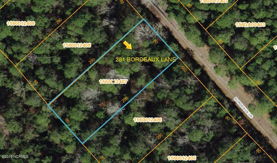 281 Bordeaux Lane, Boiling Spring Lakes, North Carolina, ,Residential land,For sale,Bordeaux,100144818