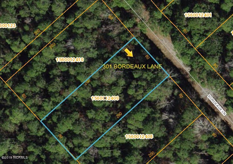301 Bordeaux Lane, Boiling Spring Lakes, North Carolina, ,Residential land,For sale,Bordeaux,100144807