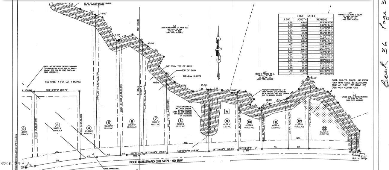 Lot 13 Rose Boulevard, Nashville, North Carolina 27856, ,Residential land,For sale,Rose,100147612