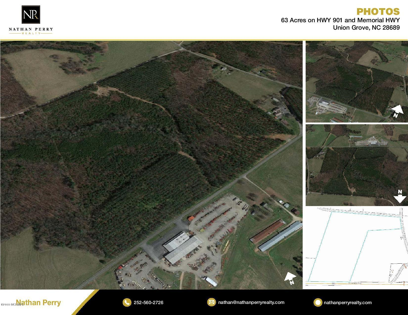 Lot 0 Memorial Highway, Union Grove, North Carolina 28689, ,Wooded,For sale,Memorial,100147744