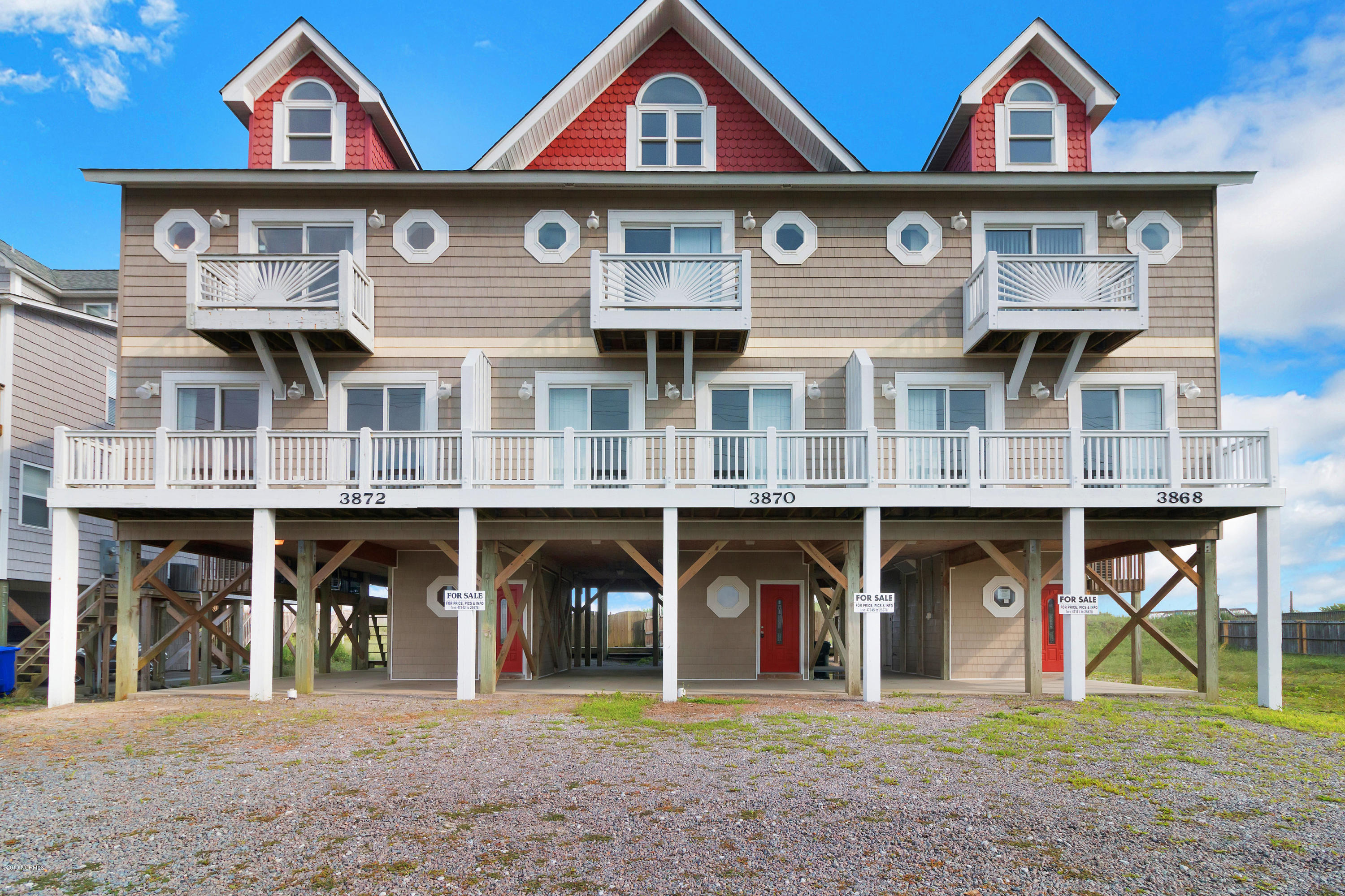 3872 Island Drive, North Topsail Beach, North Carolina, 4 Bedrooms Bedrooms, 6 Rooms Rooms,3 BathroomsBathrooms,Townhouse,For sale,Island,100148802