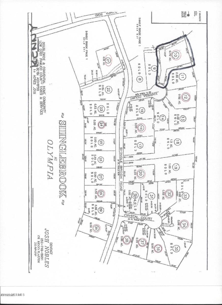 45 Karissa Court, New Bern, North Carolina 28560, ,Residential land,For sale,Karissa,100149724
