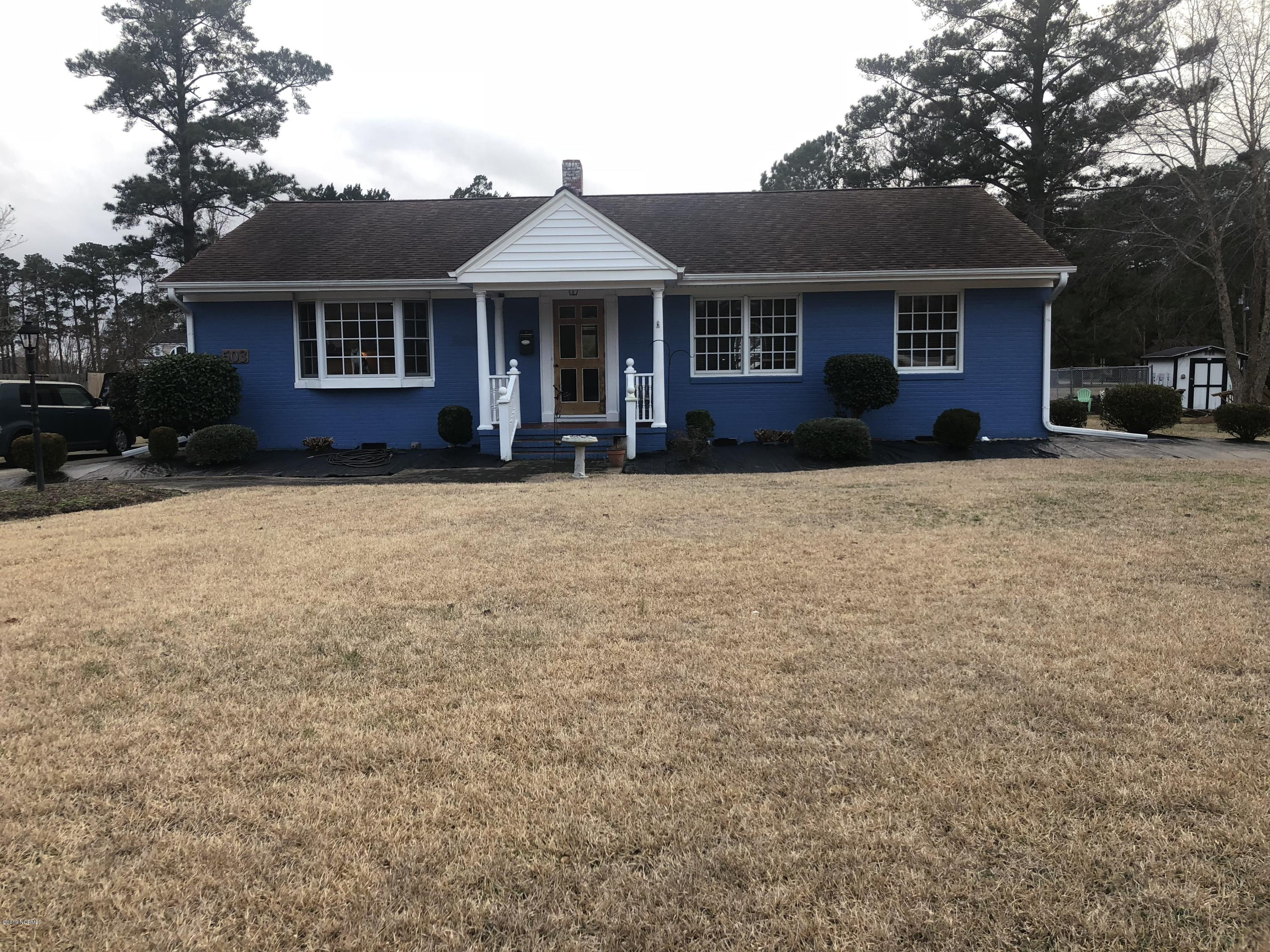 503 Fairview Avenue, Washington, North Carolina, 3 Bedrooms Bedrooms, 9 Rooms Rooms,1 BathroomBathrooms,Single family residence,For sale,Fairview,100150138