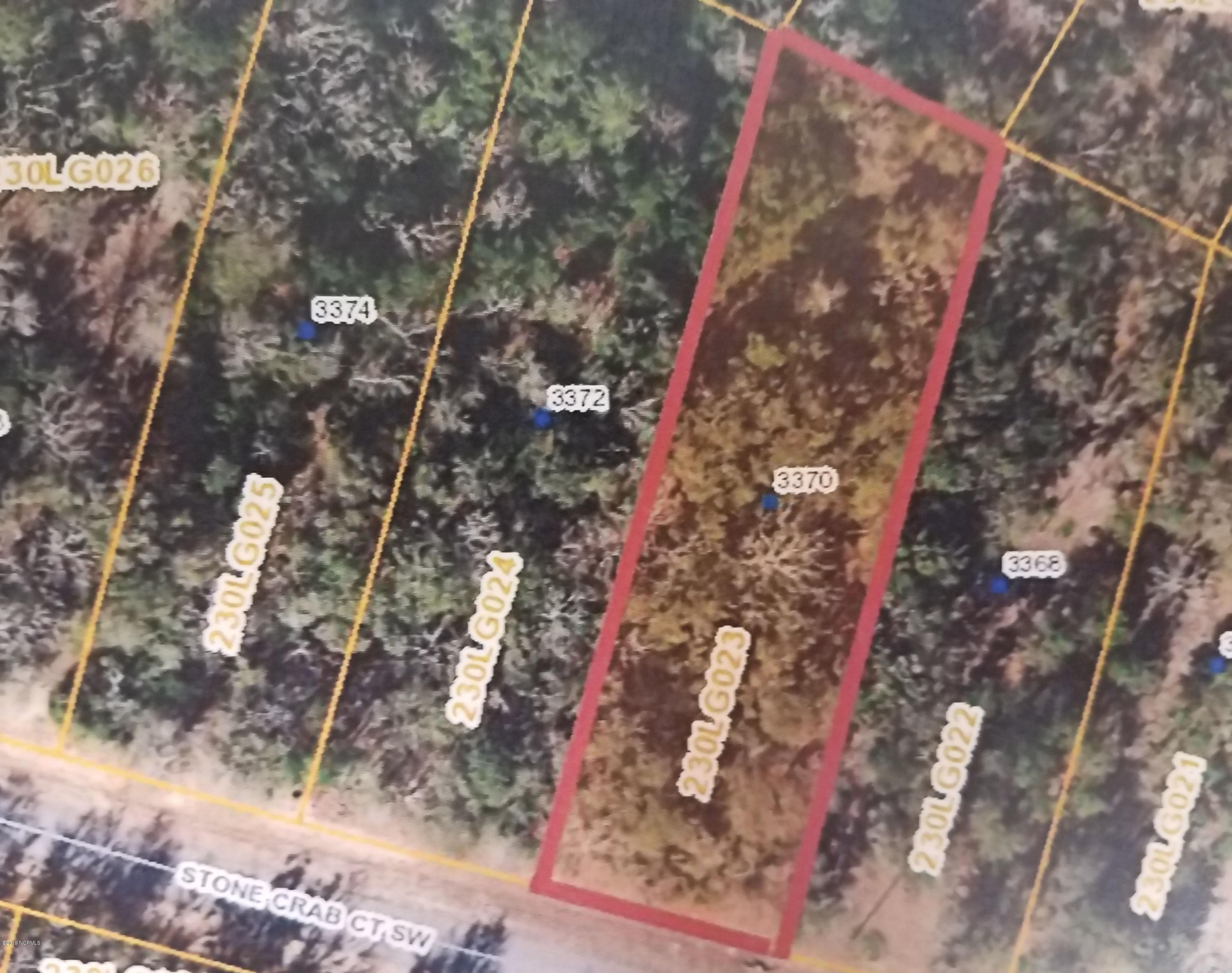 3370 Stone Crab Court, Supply, North Carolina, ,Residential land,For sale,Stone Crab,100151314
