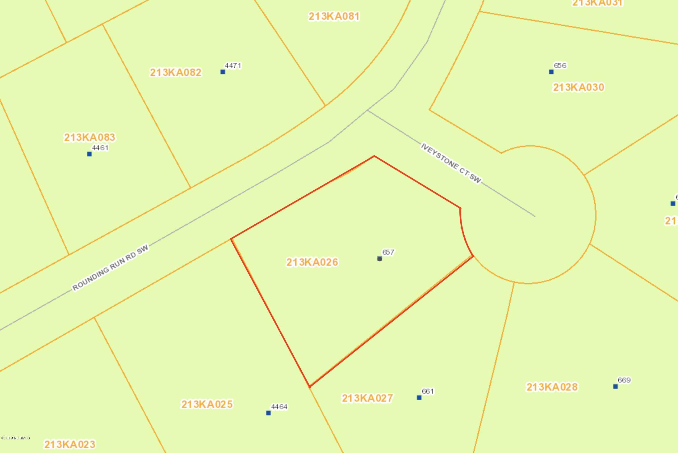 657 Iveystone Court, Shallotte, North Carolina 28470, ,Residential land,For sale,Iveystone,100151322