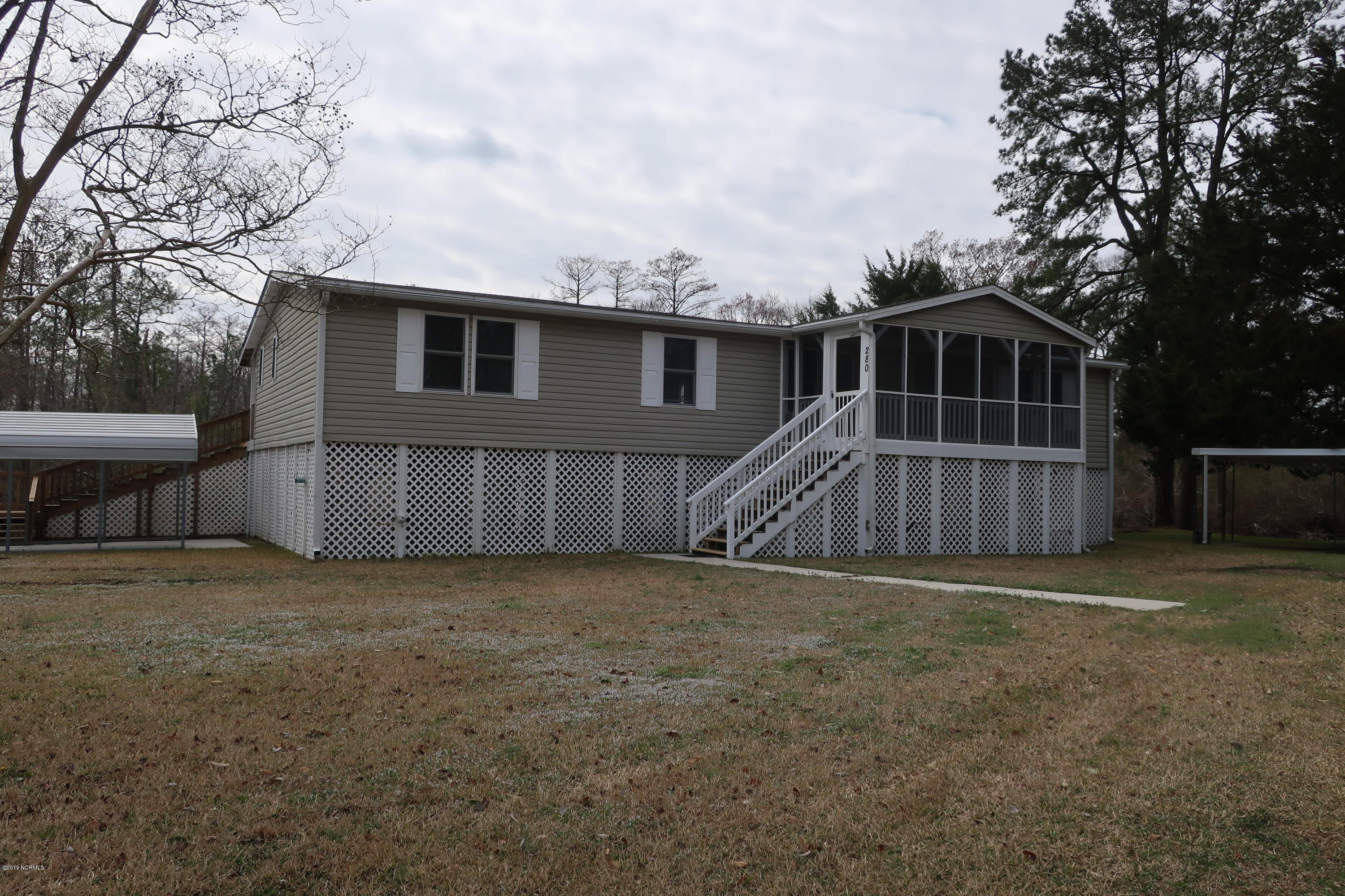 280 Fort Shores Drive, Chocowinity, North Carolina, 3 Bedrooms Bedrooms, 7 Rooms Rooms,2 BathroomsBathrooms,Manufactured home,For sale,Fort Shores,100153063