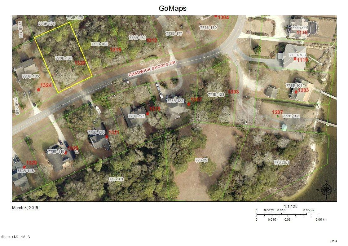 1320 Chadwick Shores Drive, Sneads Ferry, North Carolina 28460, ,Residential land,For sale,Chadwick Shores,100153277